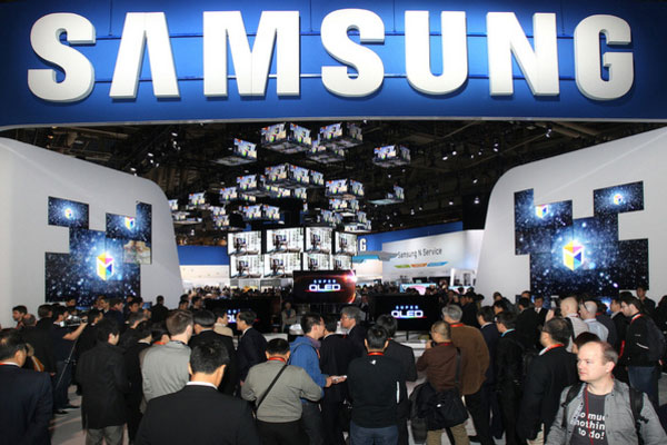 Samsung Trade Show Booth